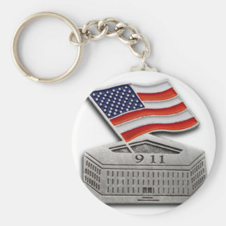PENTAGON US FLAG 9-11 KEY CHAINS