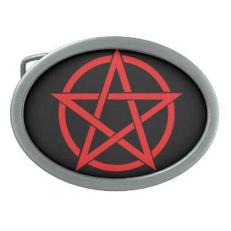 Pentagram Belt Buckles