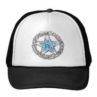 Pentagram Crystal Star Hat