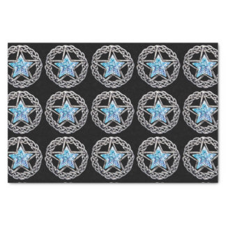 Pentagram Crystal Star Tissue Paper