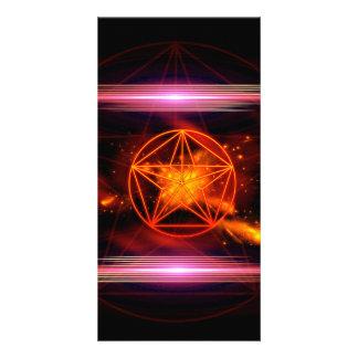 Pentagram Customised Photo Card
