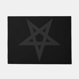 Pentagram Doormat
