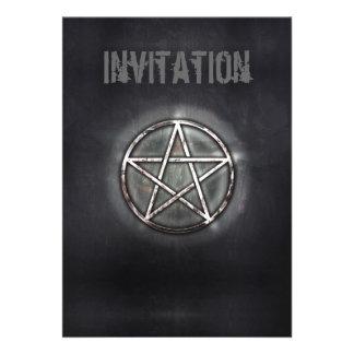 Pentagram Personalized Invitations