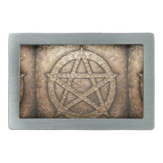 Pentagram of protections belt buckles