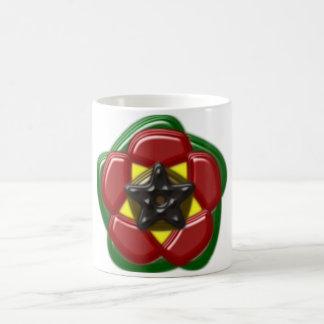 Pentagram pentagon approximately coffee mug