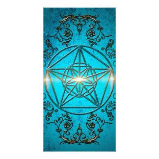 Pentagram, Photo Card Template