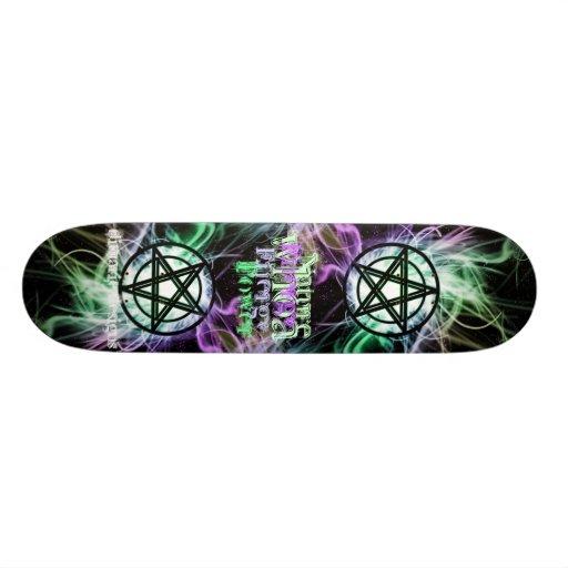 Pentagram Power n verse Skate Board Deck