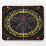 Pentagram Snakes Mouse Pads