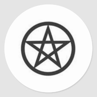 Pentagram Stickers