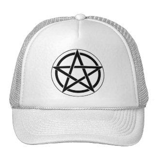 Pentagram Symbol Hat