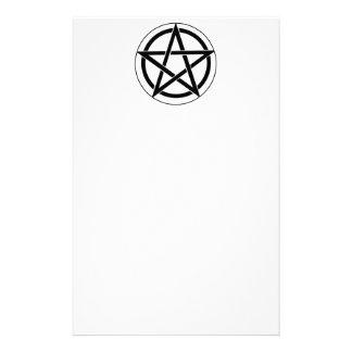 Pentagram Symbol Stationery Design