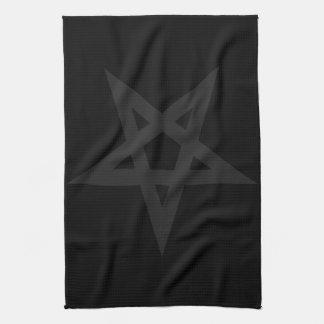 Pentagram Tea Towel