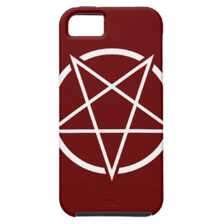 Pentagram (white) No.1 Tough iPhone 5 Case