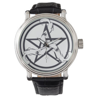 Pentagram Wolf Watch
