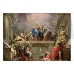 Pentecost, 1732 greeting card