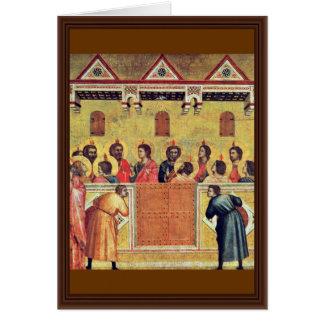 Pentecost By Giotto Di Bondone Cards