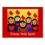 Pentecost Postcard