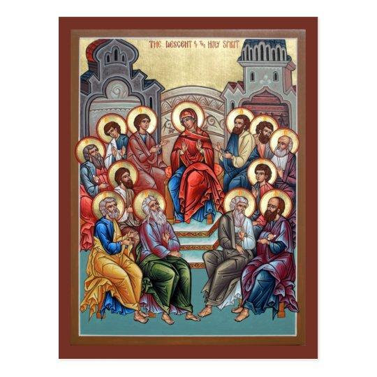Pentecost Prayer Card
