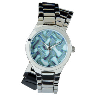 Penthouse & Pavement Women's Silver Watch