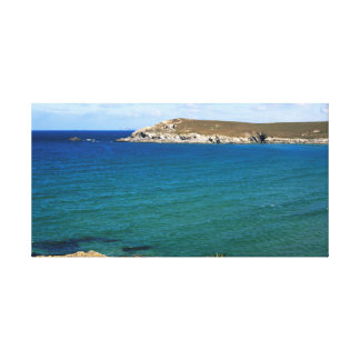 Pentire Point, Cornwall Canvas Print