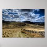 Pentland Hills, Edinburgh Poster