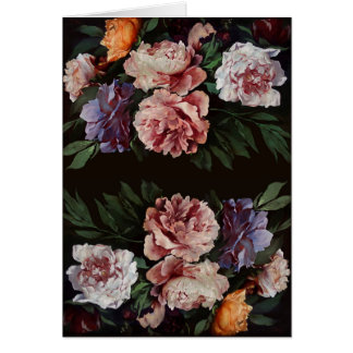 Peonies after Anselm Feuerbach Greeting Card 3