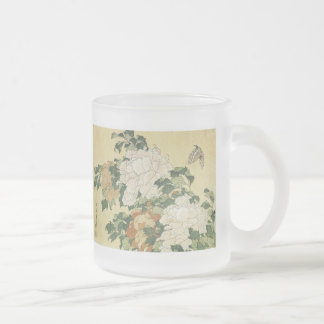 Peonies and Butterfly, 1833-34, Mugs and Steins