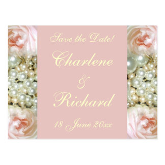 Peonies and Pearls Postcards