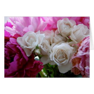 Peonies and Roses Card