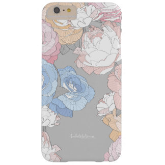 PEONIES BARELY THERE iPhone 6 PLUS CASE