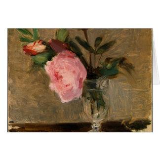 Peonies Berthe Morisot Fine Art Greeting Card