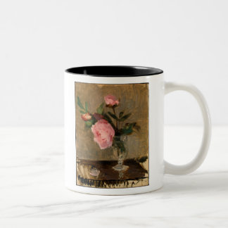 Peonies Berthe Morisot Fine Art Two-Tone Coffee Mug