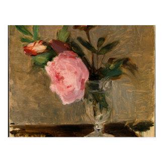 Peonies Berthe Morisot Fine Art Postcard