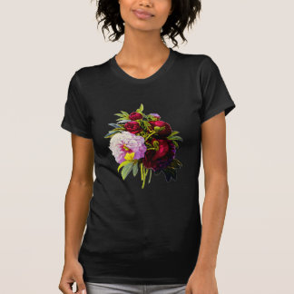 Peonies by Pierre Joseph Redoute T-Shirt