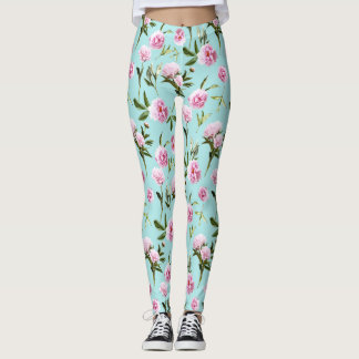 Peonies in her Dreams Leggings