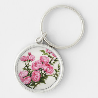 Peonies Key Ring