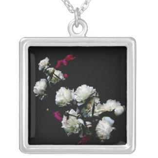Peonies necklace