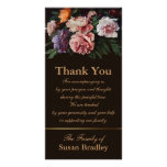 Peonies Painting 1 - Sympathy Thank You Photo Card