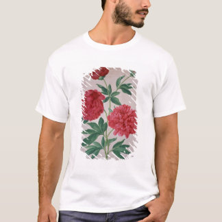 Peonies, plate 46 from the Nassau Florilegium (w/c T-Shirt