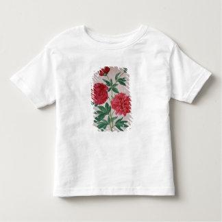 Peonies, plate 46 from the Nassau Florilegium (w/c Toddler T-Shirt