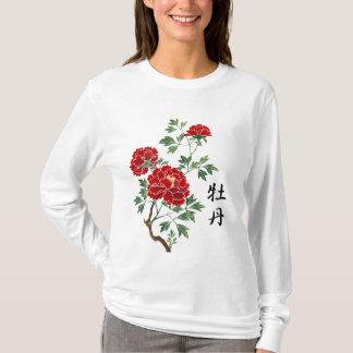 Peonies Women's Long Sleeve T Shirts