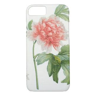 Peony, 1799 (colour stipple ) iPhone 8/7 case