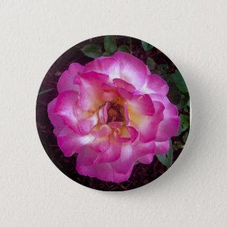 Peony 6 Cm Round Badge