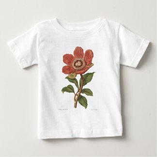Peony, Antique Victorian Botanical Image Baby T-Shirt
