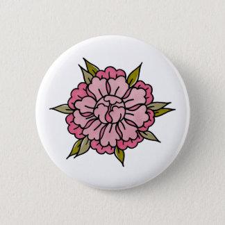 PEONY // badge. 6 Cm Round Badge