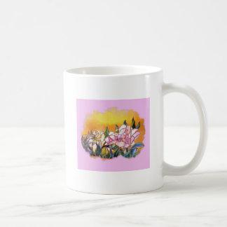 Peony Basic White Mug