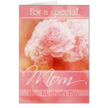Peony Bouquet Mother's Day Card