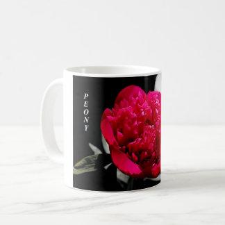 Peony Flower Mug