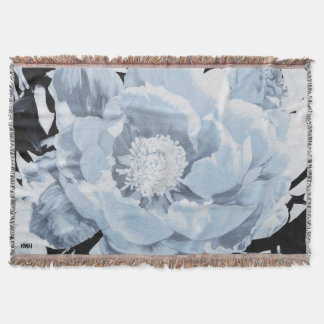 Peony For Your Thoughts Blanket Throw