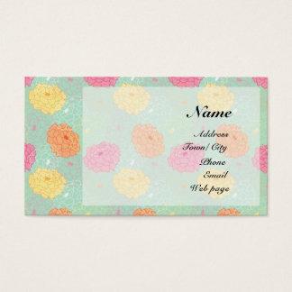 Peony garden business card